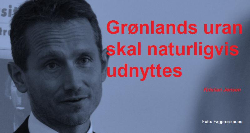 Kristian Jensen grafikcitat uran