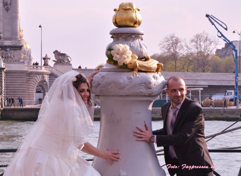 Bryllupsmotiv Paris