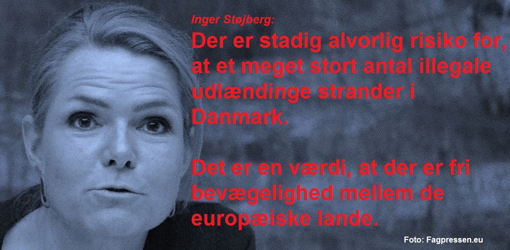 Inger Støjberg citatgrafik kystvagtmandat