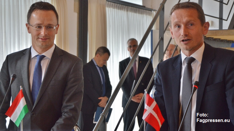 Ungarsk-dansk udenrigsministermøde 310516