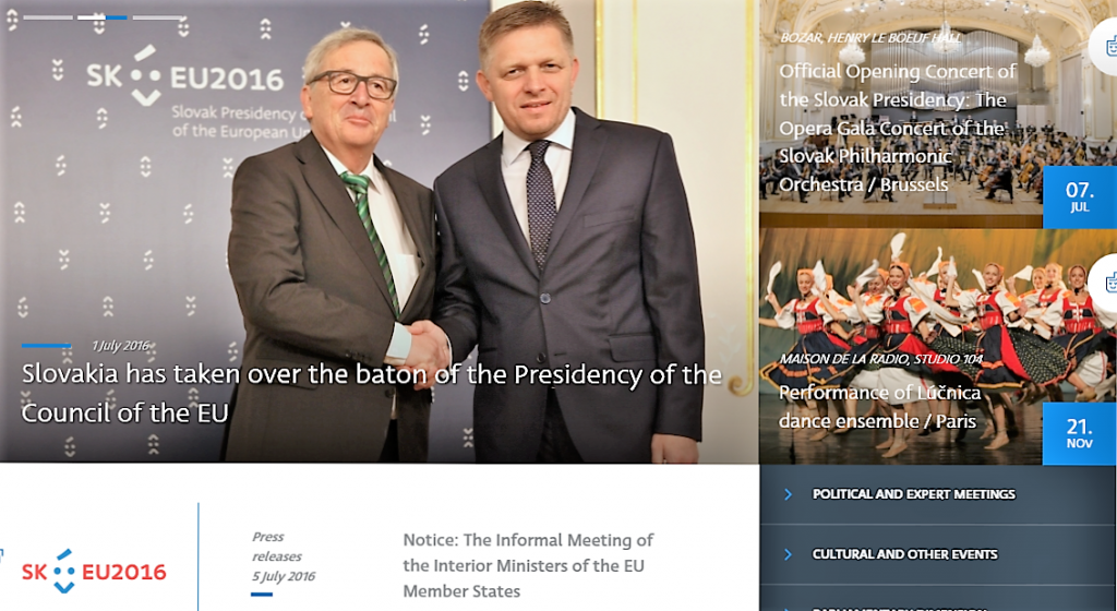 Slovakisk EU-formandskab skærmdump 050716 (2)