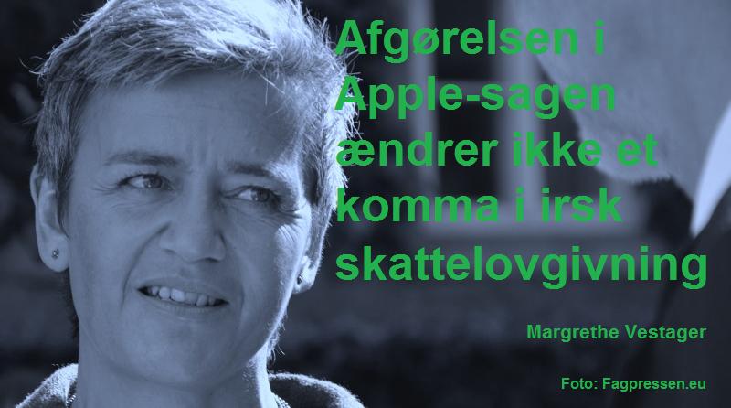 Margrethe Vestager Apple-sagen
