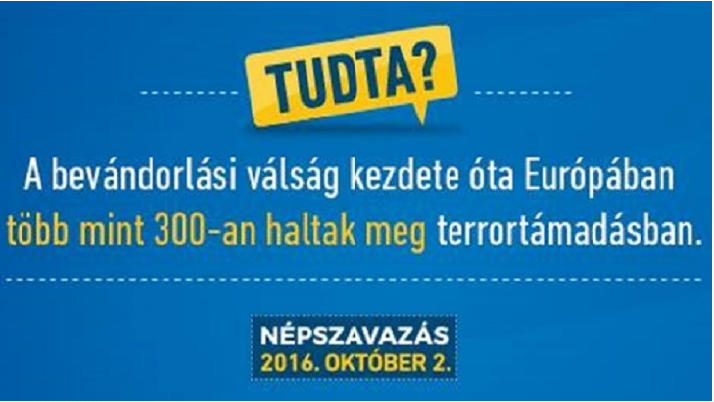 Ungarsk nej-kampagnespørgsmål 200716