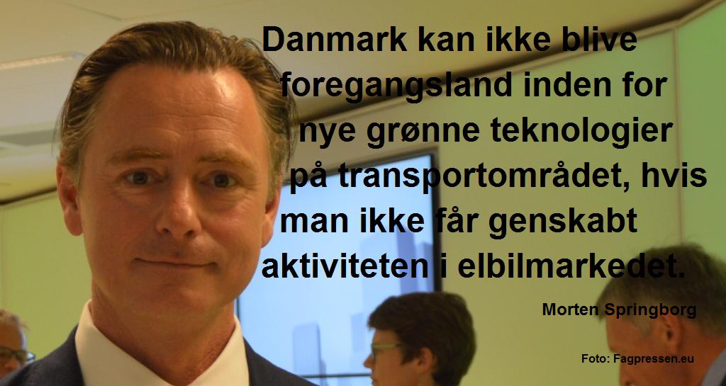 Morten Springborg elbiler citatgrafik korrektur
