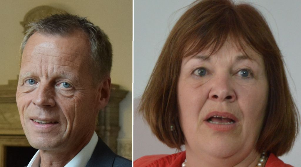 Femerdebat Lennart Damsbo-Andersen  + Bettina Hagedorn