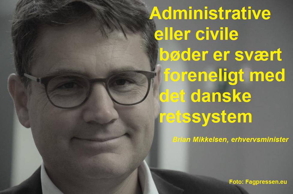 Brian Mikkelsen citat  ECN+ Foto Fagpressen.eu 261117