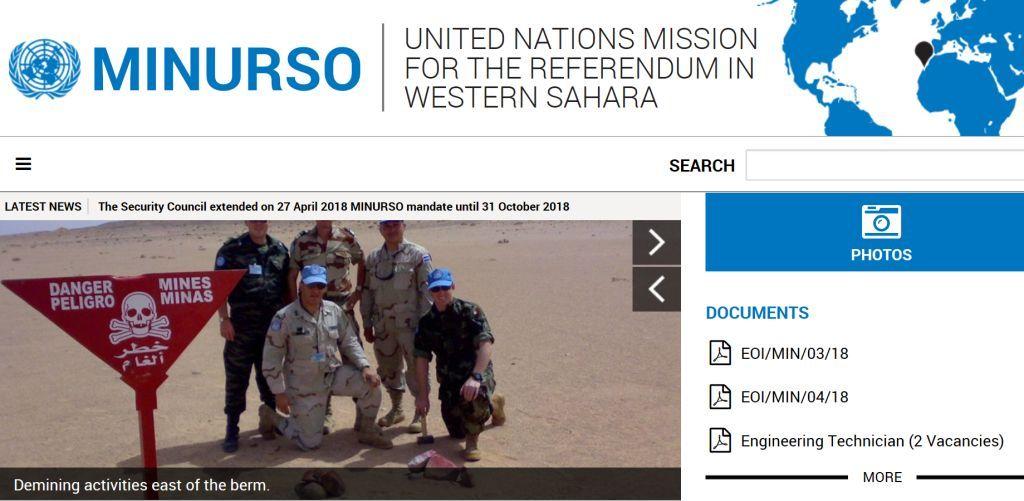 vestsahara-marokko-minurso-unmissions-org
